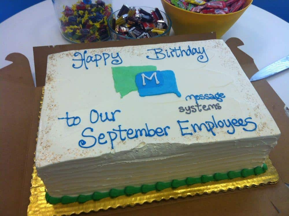 Should organizations celebrate employees' personal milestones?