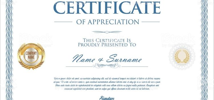 All you need to know about Award Certificates!